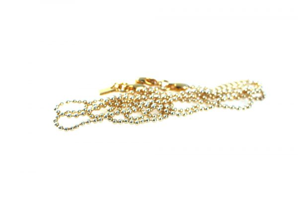 Qoss Kugelkette Nicolien Gold 2mm