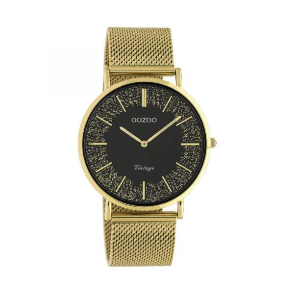 OOZOO Vintage Uhr Gold/Gold 40mm