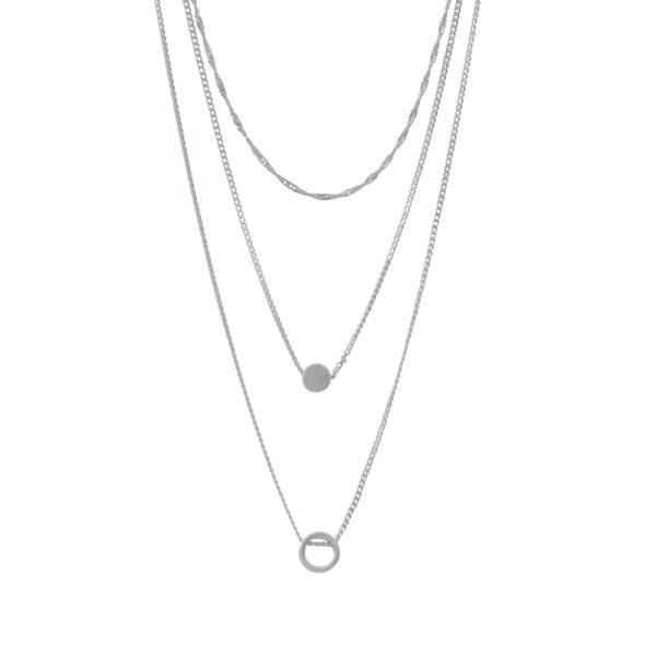 Dansk Copenhagen Vanity Mini Triple Halskette