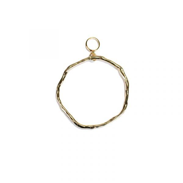 Qoss Anhänger Cirkel Gold