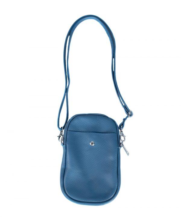 Handyumhängetasche Jeansblau